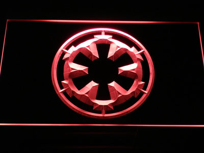 Star Wars Galactic Empire LED Neon Sign - Red - SafeSpecial