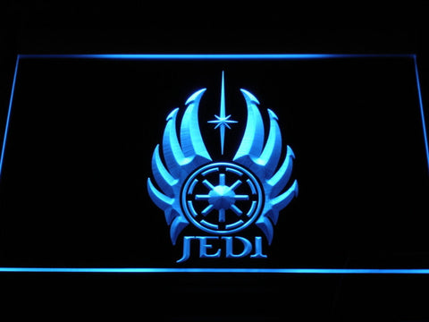 Image of Star Wars Jedi Code LED Neon Sign - Blue - SafeSpecial
