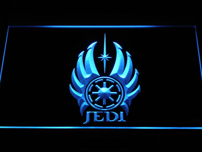 Star Wars Jedi Code LED Neon Sign - Blue - SafeSpecial