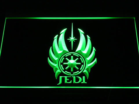 Image of Star Wars Jedi Code LED Neon Sign - Green - SafeSpecial
