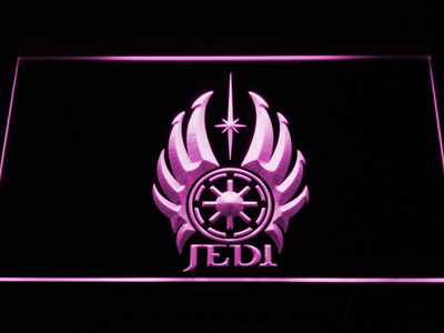 Star Wars Jedi Code LED Neon Sign - Purple - SafeSpecial