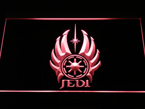 Image of Star Wars Jedi Code LED Neon Sign - Red - SafeSpecial