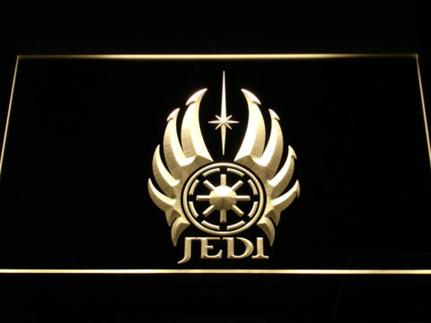 Image of Star Wars Jedi Code LED Neon Sign - Yellow - SafeSpecial