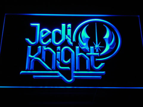 Image of Star Wars Jedi Knight LED Neon Sign - Blue - SafeSpecial