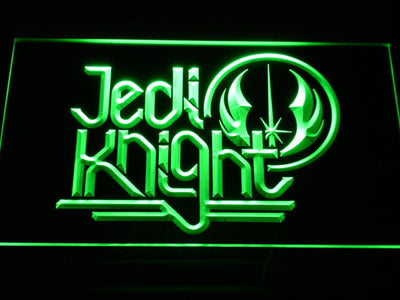 Star Wars Jedi Knight LED Neon Sign - Green - SafeSpecial