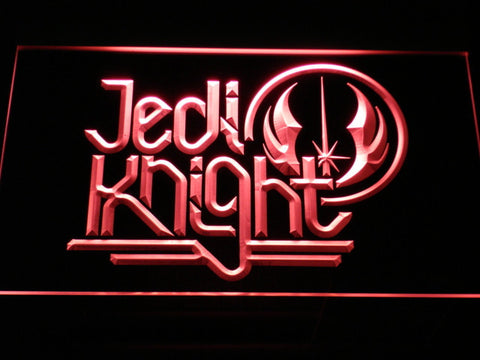 Star Wars Jedi Knight LED Neon Sign - Red - SafeSpecial