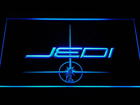 Image of Star Wars Jedi LED Neon Sign - Blue - SafeSpecial