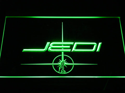 Image of Star Wars Jedi LED Neon Sign - Green - SafeSpecial