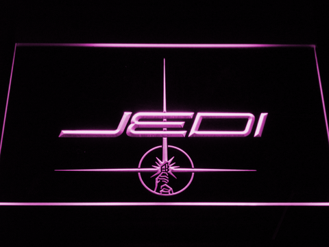 Image of Star Wars Jedi LED Neon Sign - Purple - SafeSpecial