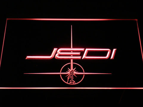Image of Star Wars Jedi LED Neon Sign - Red - SafeSpecial