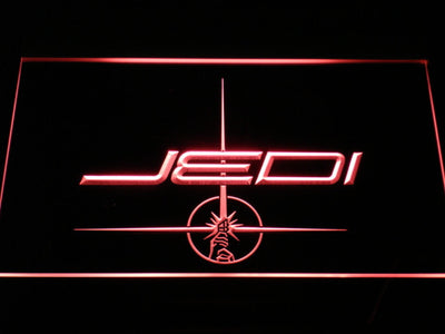Star Wars Jedi LED Neon Sign - Red - SafeSpecial
