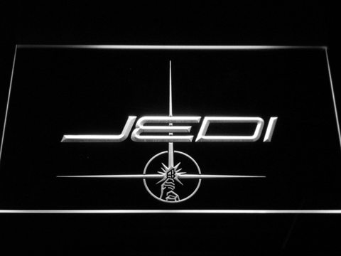 Image of Star Wars Jedi LED Neon Sign - White - SafeSpecial