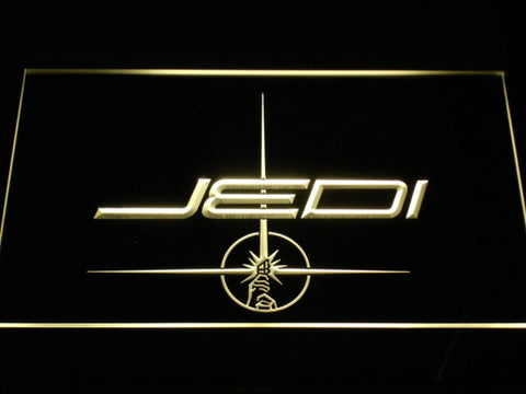 Image of Star Wars Jedi LED Neon Sign - Yellow - SafeSpecial
