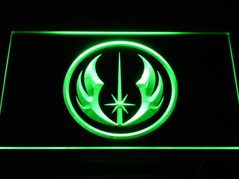 Star Wars Jedi Order LED Neon Sign - Green - SafeSpecial