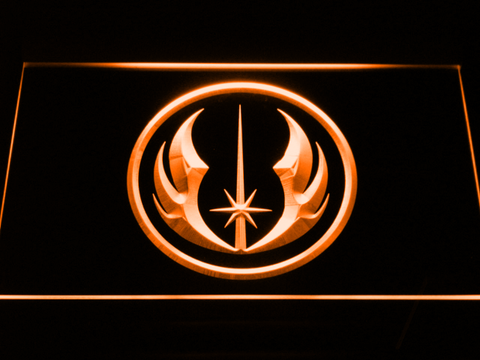Star Wars Jedi Order LED Neon Sign - Orange - SafeSpecial