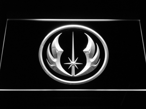 Star Wars Jedi Order LED Neon Sign - White - SafeSpecial