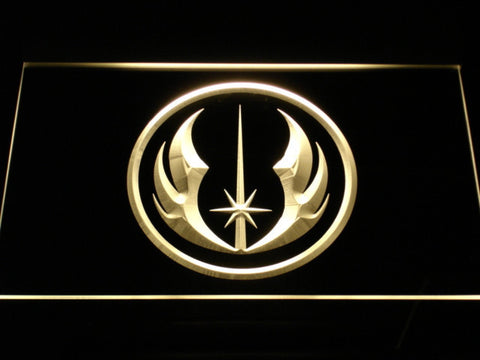 Star Wars Jedi Order LED Neon Sign - Yellow - SafeSpecial