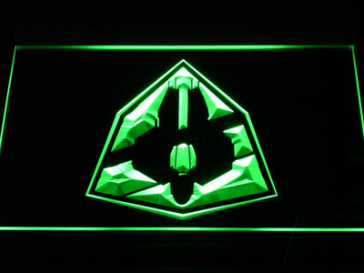 Star Wars Jedi Starfighter ETA-2 LED Neon Sign - Green - SafeSpecial