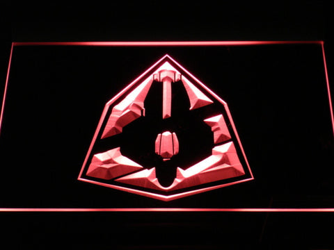 Image of Star Wars Jedi Starfighter ETA-2 LED Neon Sign - Red - SafeSpecial