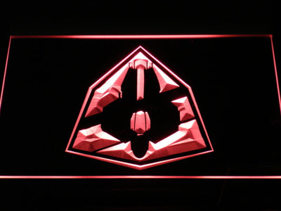 Star Wars Jedi Starfighter ETA-2 LED Neon Sign - Red - SafeSpecial