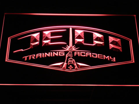 Image of Star Wars Jedi Training Academy LED Neon Sign - Red - SafeSpecial