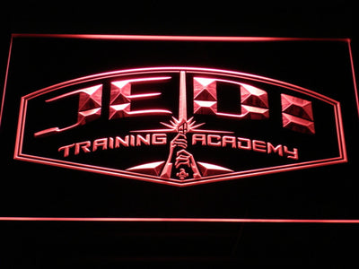 Star Wars Jedi Training Academy LED Neon Sign - Red - SafeSpecial