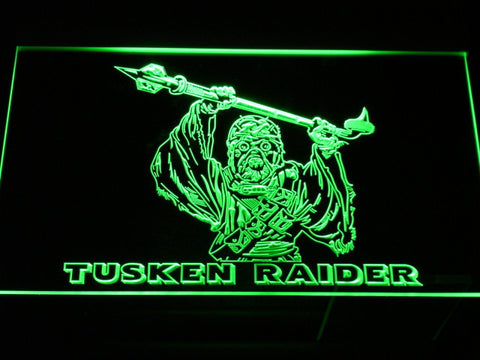 Star Wars Tusken Raider LED Neon Sign - Green - SafeSpecial