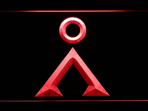 Image of Stargate Earth Glyph LED Neon Sign - Red - SafeSpecial