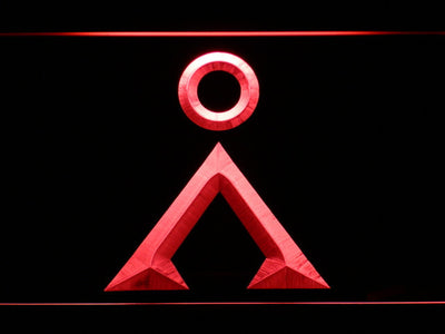 Stargate Earth Glyph LED Neon Sign - Red - SafeSpecial