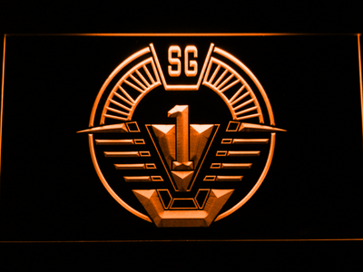 Stargate SG-1 LED Neon Sign - Orange - SafeSpecial