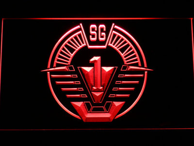 Stargate SG-1 LED Neon Sign - Red - SafeSpecial