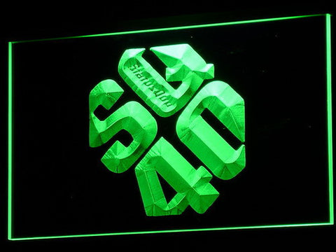 Status Quo LED Neon Sign - Green - SafeSpecial