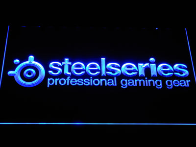 SteelSeries LED Neon Sign - Blue - SafeSpecial