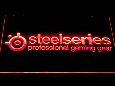 SteelSeries LED Neon Sign - Red - SafeSpecial