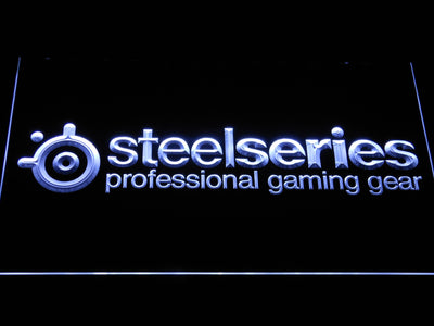 SteelSeries LED Neon Sign - White - SafeSpecial