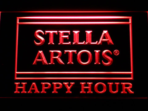 Stella Artois Happy Hour Led Neon Sign Safespecial