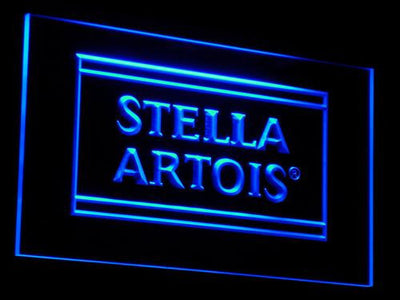 Stella Artois LED Neon Sign - Blue - SafeSpecial
