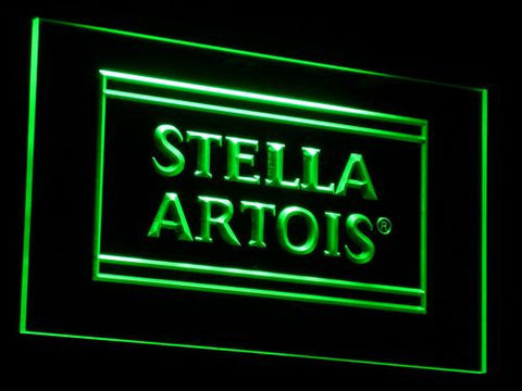 Image of Stella Artois LED Neon Sign - Green - SafeSpecial
