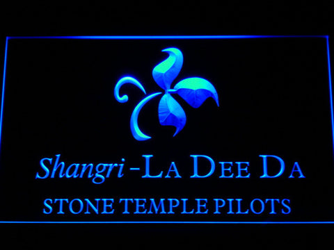Stone Temple Pilots Shangri-La Dee Da LED Neon Sign - Blue - SafeSpecial