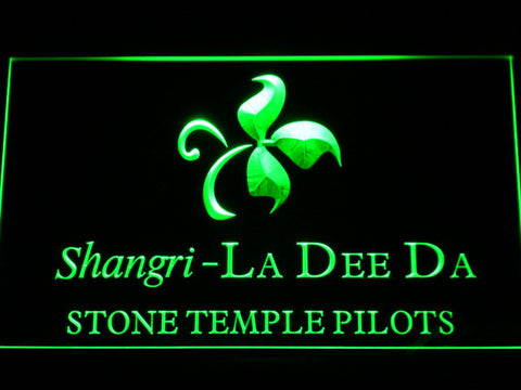 Stone Temple Pilots Shangri-La Dee Da LED Neon Sign - Green - SafeSpecial
