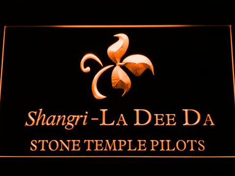 Stone Temple Pilots Shangri-La Dee Da LED Neon Sign - Orange - SafeSpecial