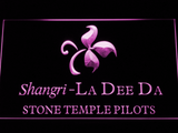 Stone Temple Pilots Shangri-La Dee Da LED Neon Sign - Purple - SafeSpecial