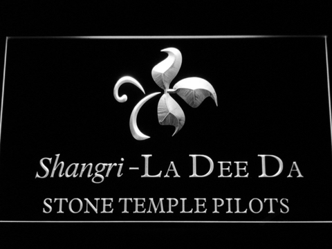Stone Temple Pilots Shangri-La Dee Da LED Neon Sign - White - SafeSpecial