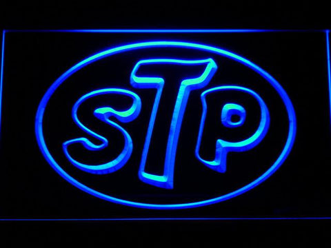 STP LED Neon Sign - Blue - SafeSpecial