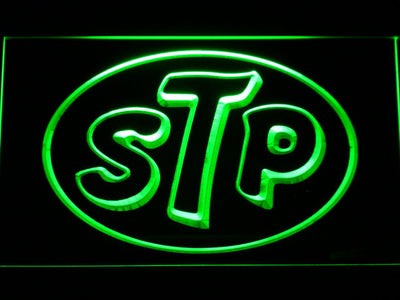 STP LED Neon Sign - Green - SafeSpecial
