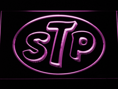 STP LED Neon Sign - Purple - SafeSpecial