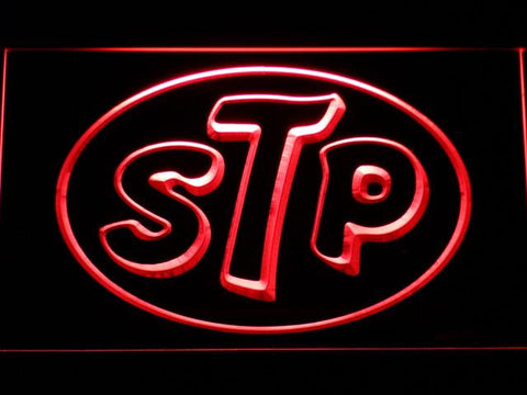 STP LED Neon Sign - Red - SafeSpecial
