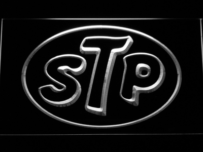 STP LED Neon Sign - White - SafeSpecial