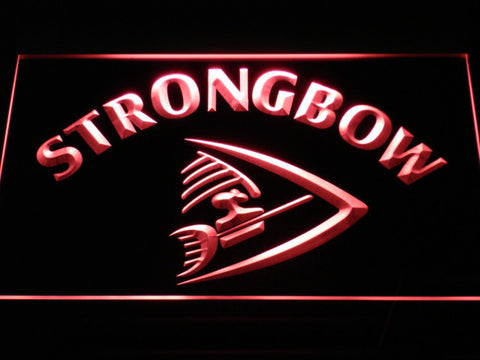 Image of Strongbow LED Neon Sign - Red - SafeSpecial
