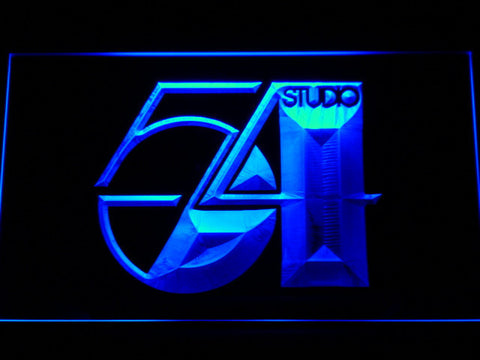 Studio 54 LED Neon Sign - Blue - SafeSpecial